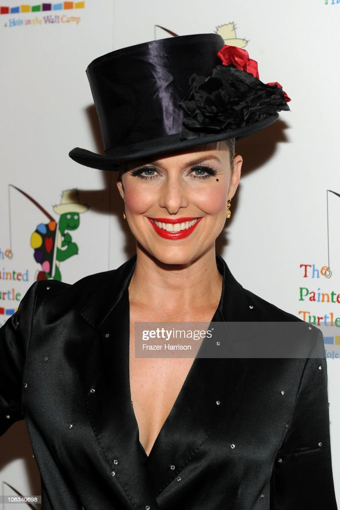 Actress Melora Hardin arrives at The Rocky Horror Picture Show 35th anniversary to benefit The Painted Turtle at The Wiltern on October 28, 2010 in Los Angeles, California.