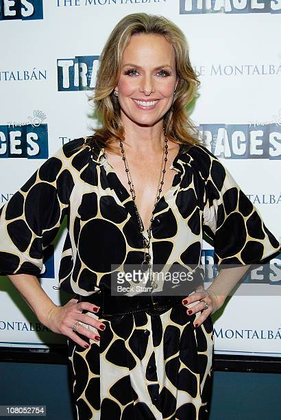 Actress Melora Hardin arrives at 'Traces' Opening Night at The Ricardo Montalban Theatre on January 14 2011 in Hollywood California