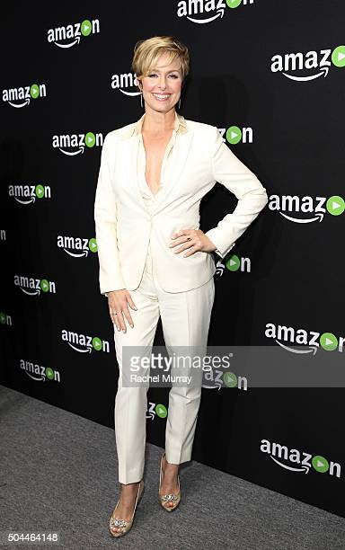 Actress Melora Hardin attends Amazon's Golden Globe Awards Celebration at The Beverly Hilton Hotel on January 10 2016 in Beverly Hills California