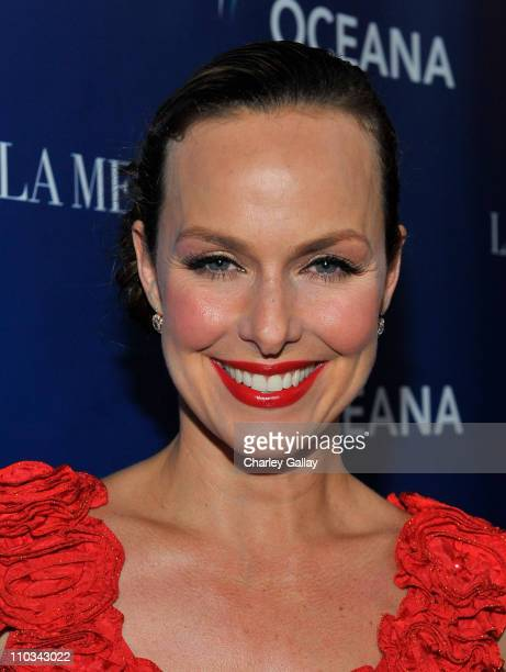 Actress Melora Hardin attends Oceana's celebration of World Oceans Day with La Mer at Private Residence on June 8 2009 in Los Angeles California