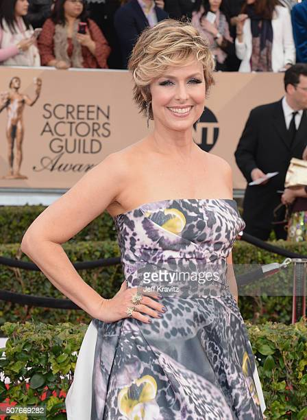 Actress Melora Hardin attends the 22nd Annual Screen Actors Guild Awards at The Shrine Auditorium on January 30 2016 in Los Angeles California
