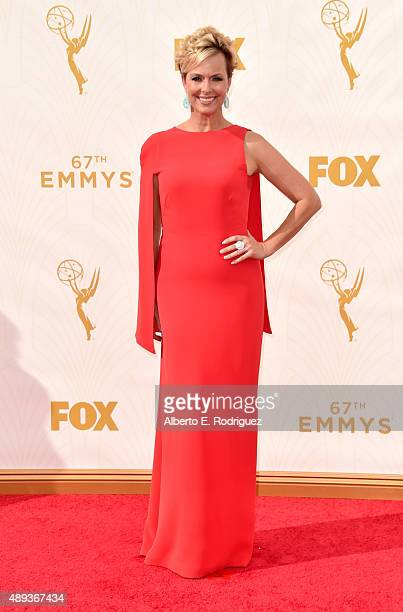 Actress Melora Hardin attends the 67th Emmy Awards at Microsoft Theater on September 20 2015 in Los Angeles California 25720_001