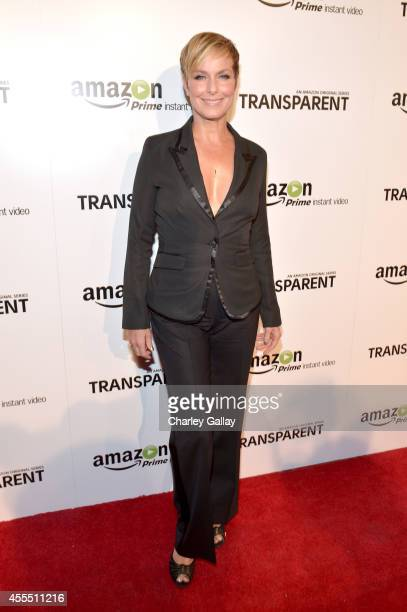 Actress Melora Hardin attends the Amazon red carpet premiere screening for brandnew dark comedy 'Transparent' The Theatre at Ace Hotel on September...