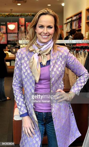 Actress Melora Hardin attends the HollyRod Foundation and JCrew private shopping event at The Grove on December 10 2009 in Los Angeles California