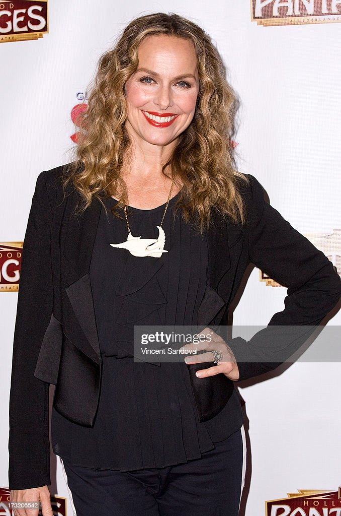 Actress <a gi-track='captionPersonalityLinkClicked' href=/galleries/search?phrase=Melora+Hardin&family=editorial&specificpeople=233545 ng-click='$event.stopPropagation()'>Melora Hardin</a> attends the Los Angeles opening night of 'Sister Act' at the Pantages Theatre on July 9, 2013 in Hollywood, California.