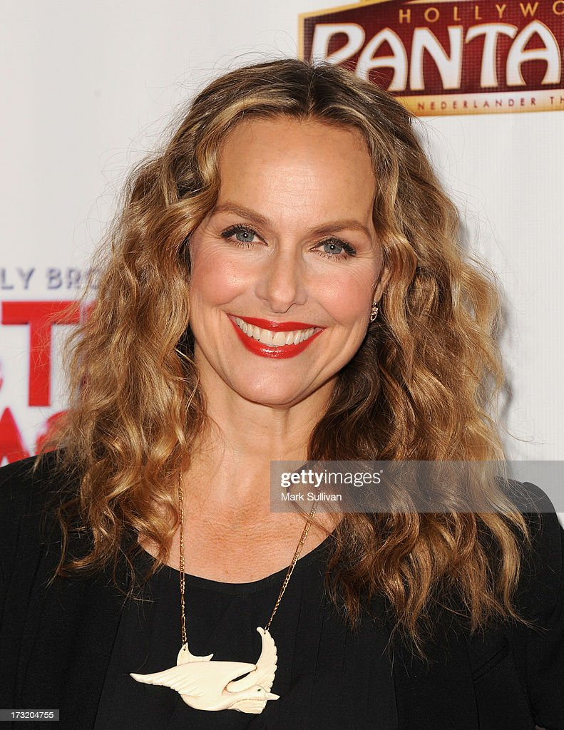 Actress <a gi-track='captionPersonalityLinkClicked' href=/galleries/search?phrase=Melora+Hardin&family=editorial&specificpeople=233545 ng-click='$event.stopPropagation()'>Melora Hardin</a> attends the premiere of 'Sister Act' at the Pantages Theatre on July 9, 2013 in Hollywood, California.