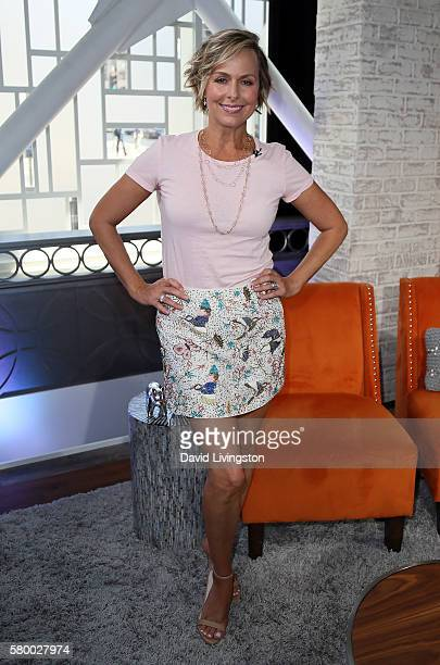 Actress Melora Hardin visits Hollywood Today Live at W Hollywood on July 25 2016 in Hollywood California