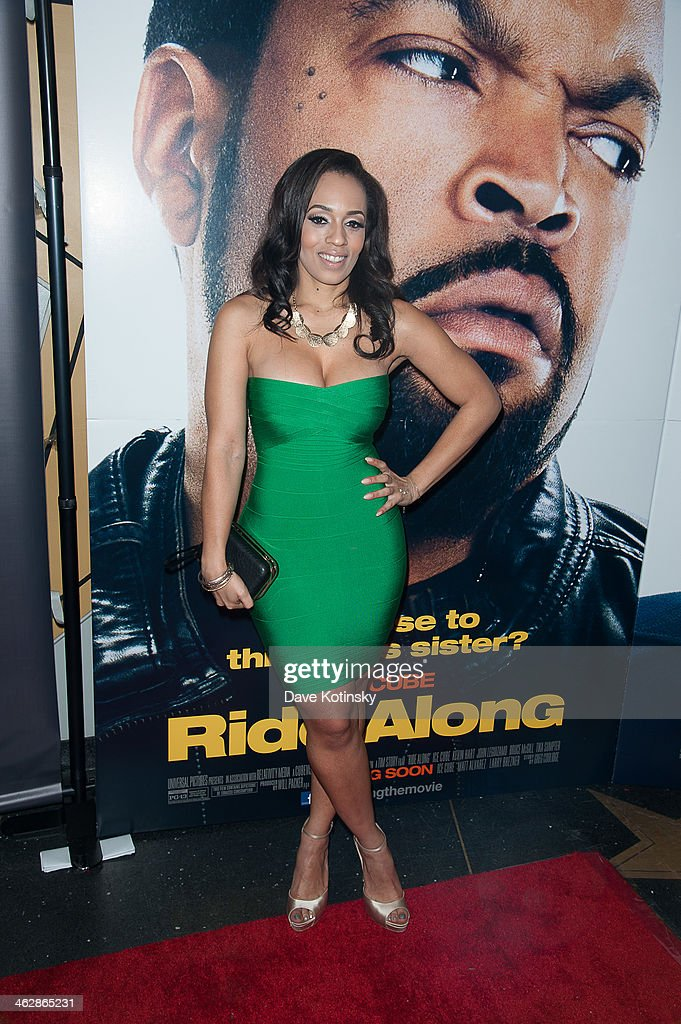 Actress Melyssa Ford attends the 'Ride Along' screening at AMC Loews Lincoln Square on January 15, 2014 in New York City.