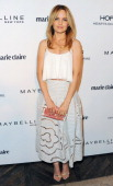 Actress Mena Suvari arrives at Marie Claire's Fresh Faces Party at Soho House on April 8 2014 in West Hollywood California