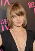 Actress Mena Suvari arrives at the 'Belvedere IX' Launch at MyHouse on February 5 2009 in Hollywood California