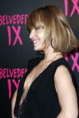 Actress Mena Suvari arrives at the Belvedere IX Launch Party on February 5 2009 in Hollywood California
