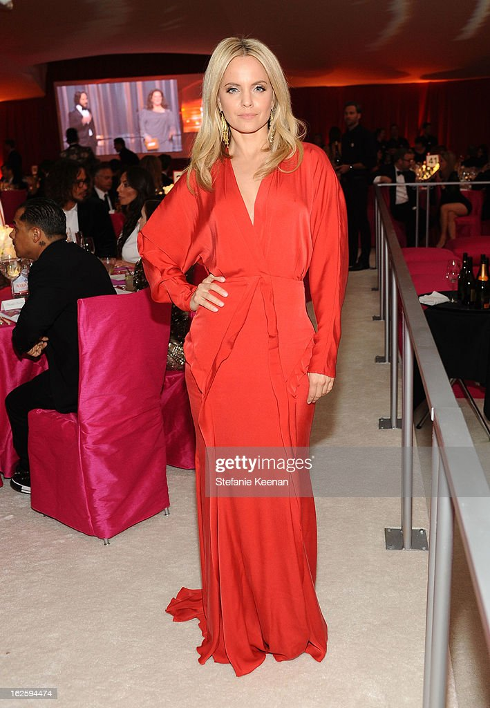 Actress Mena Suvari attends Chopard at 21st Annual Elton John AIDS Foundation Academy Awards Viewing Party at West Hollywood Park on February 24, 2013 in West Hollywood, California.