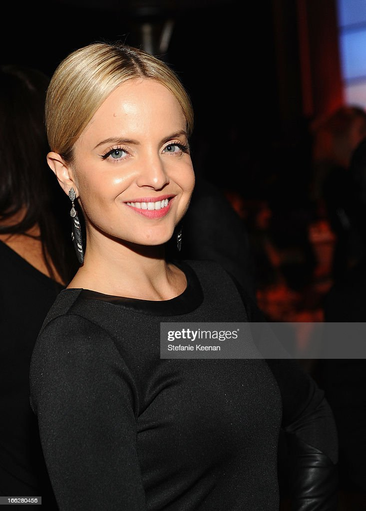 Actress Mena Suvari attends Coach's 3rd Annual Evening of Cocktails and Shopping to Benefit the Children's Defense Fund hosted by Katie McGrath, J.J. Abrams and Bryan Burk at Bad Robot on April 10, 2013 in Santa Monica, California.