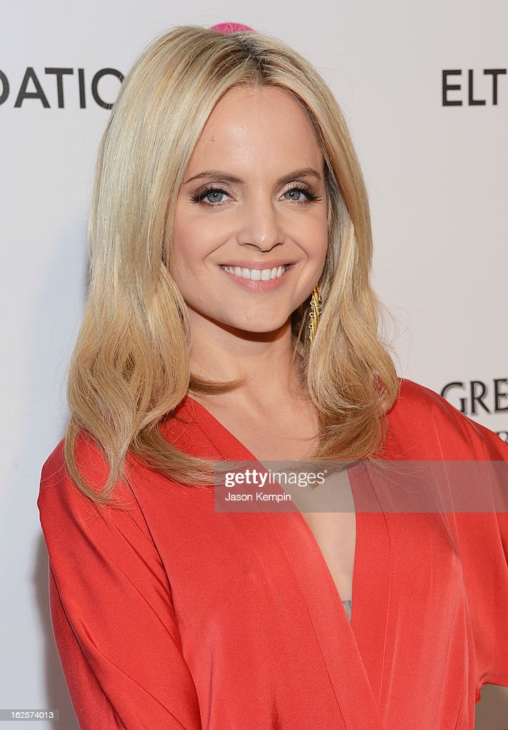 Actress Mena Suvari attends the 21st Annual Elton John AIDS Foundation Academy Awards Viewing Party at West Hollywood Park on February 24, 2013 in West Hollywood, California.