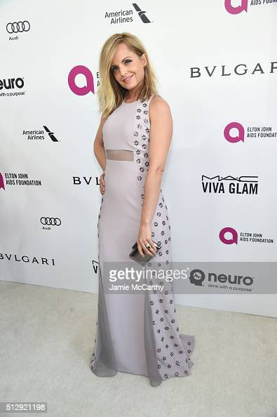 Actress Mena Suvari attends the 24th Annual Elton John AIDS Foundation's Oscar Viewing Party at The City of West Hollywood Park on February 28 2016...