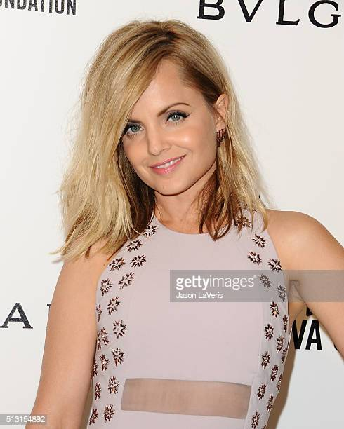 Actress Mena Suvari attends the 24th annual Elton John AIDS Foundation's Oscar viewing party on February 28 2016 in West Hollywood California