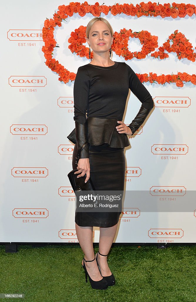 Actress Mena Suvari attends the 3rd Annual Coach Evening to benefit Children's Defense Fund at Bad Robot on April 10, 2013 in Santa Monica, California.