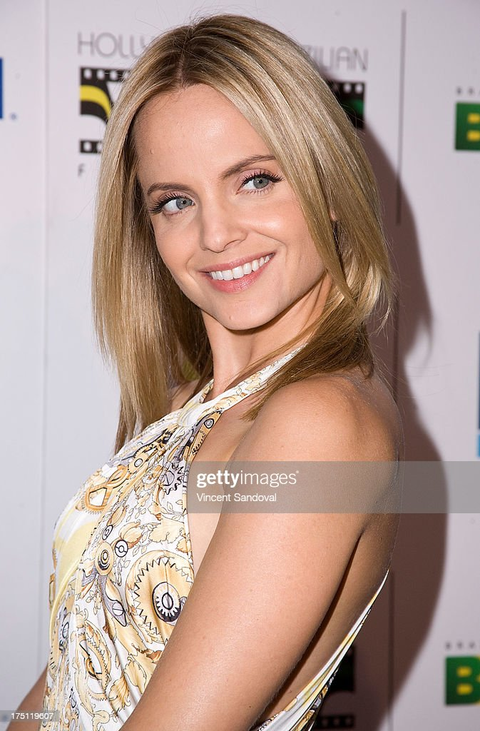 Actress <a gi-track='captionPersonalityLinkClicked' href=/galleries/search?phrase=Mena+Suvari&family=editorial&specificpeople=156413 ng-click='$event.stopPropagation()'>Mena Suvari</a> attends the 5th annual Hollywood Brazilian Film Festival at the Egyptian Theatre on July 31, 2013 in Hollywood, California.