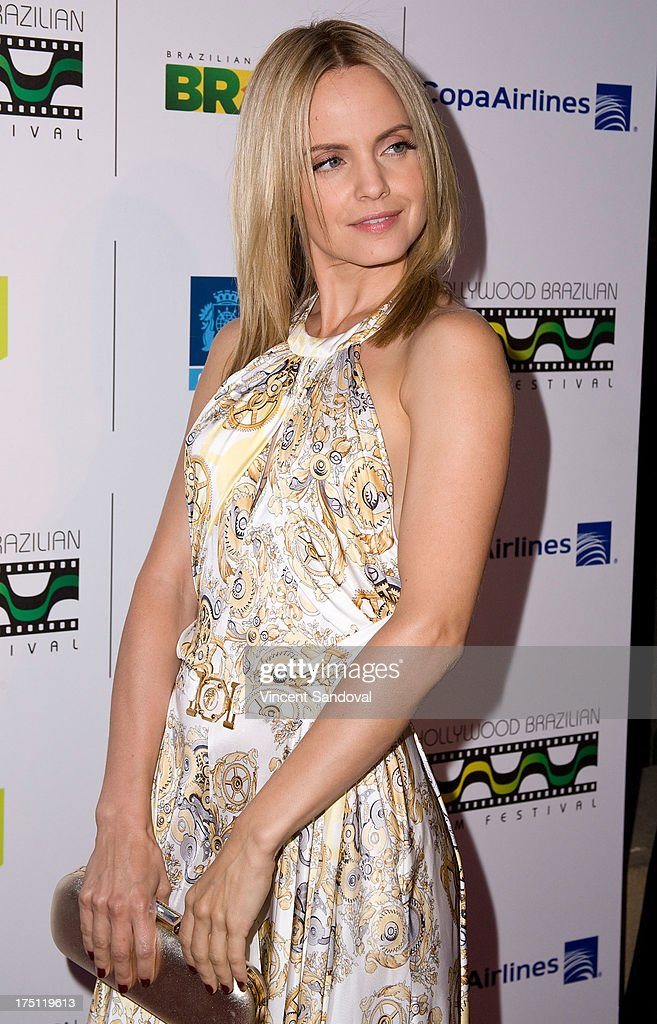 Actress Mena Suvari attends the 5th annual Hollywood Brazilian Film Festival at the Egyptian Theatre on July 31, 2013 in Hollywood, California.