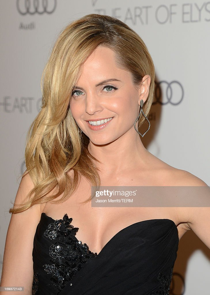 Actress Mena Suvari attends The Art of Elysium's 6th Annual HEAVEN Gala presented by Audi at 2nd Street Tunnel on January 12, 2013 in Los Angeles, California.