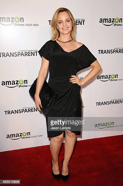Actress Mena Suvari attends the premiere of 'Transparent' at Ace Hotel on September 15 2014 in Los Angeles California