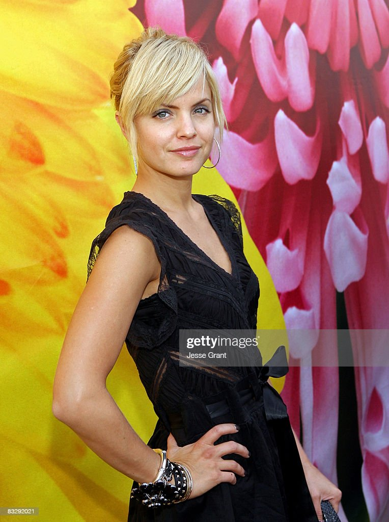 Actress Mena Suvari attends the Spring 2009 Mercedes-Benz Fashion Week held at Smashbox Studios on October 14, 2008 in Culver City, California.