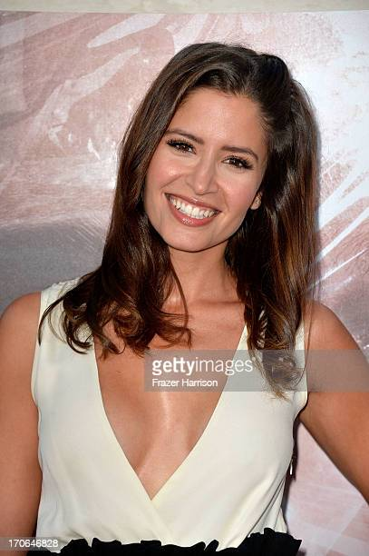 Actress Mercedes Masohn arrives at the Showtime Celebrates 8 Seasons Of 'Dexter' at Milk Studios on June 15 2013 in Hollywood California