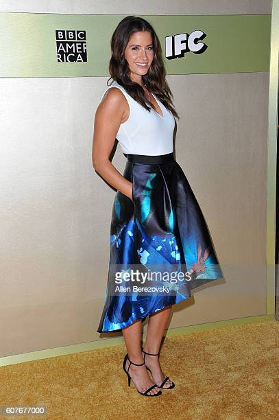 Actress Mercedes Masohn attends AMC Networks' 68th Primetime Emmy Awards afterparty celebration at BOA Steakhouse on September 18 2016 in West...