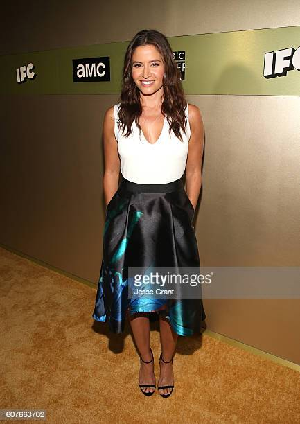 Actress Mercedes Masohn attends AMC Networks Emmy Party at BOA Steakhouse on September 18 2016 in West Hollywood California