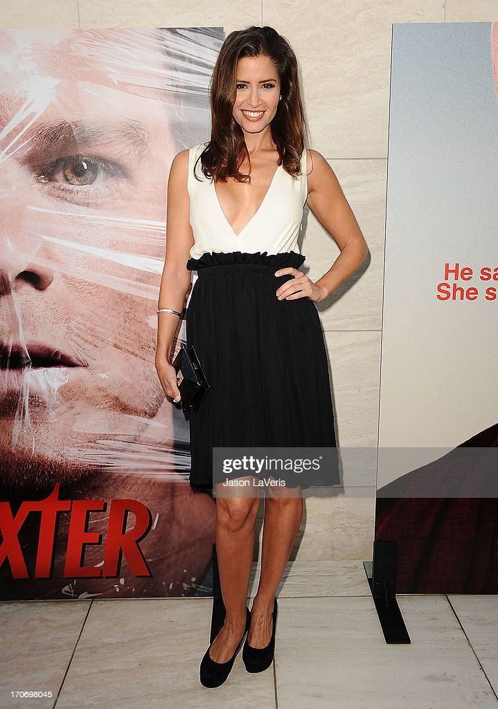 Actress Mercedes Masohn attends the 'Dexter' series finale season premiere party at Milk Studios on June 15 2013 in Hollywood California