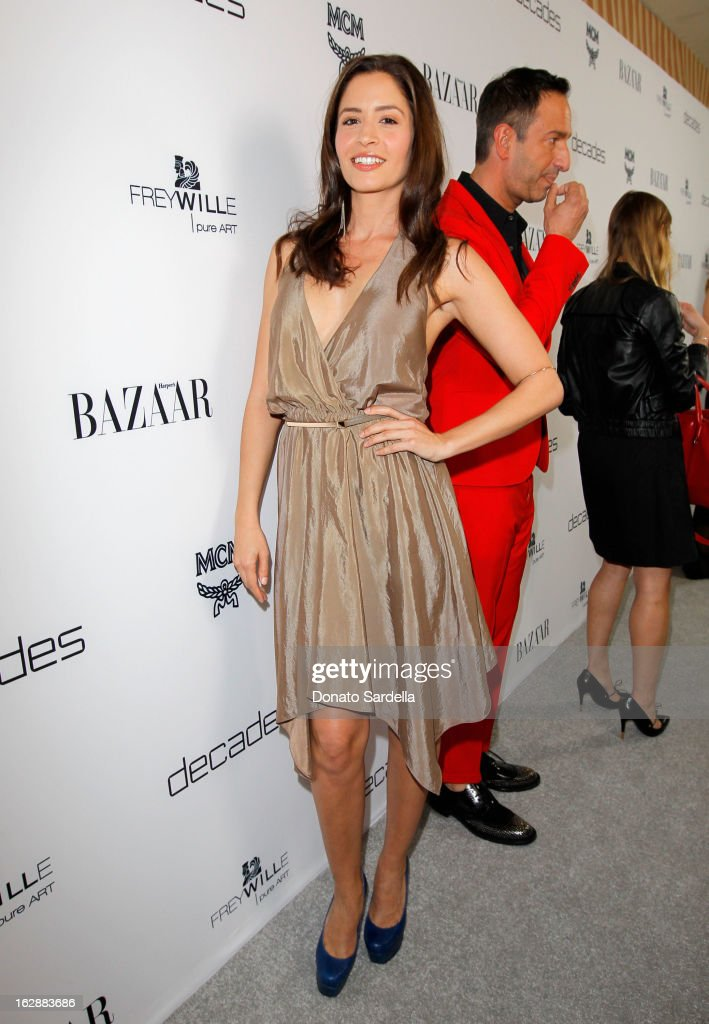 Actress Mercedes Masohn attends the Dukes Of Melrose launch hosted by Decades, Harper's BAZAAR, and MCM on February 28, 2013 in Los Angeles, California.
