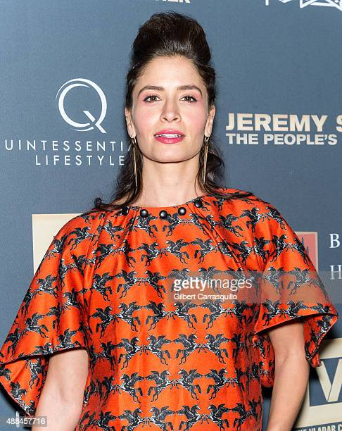 Actress Mercedes Masohn attends the 'Jeremy Scott The People's Designer' New York Premiere at The Paris Theatre on September 15 2015 in New York City