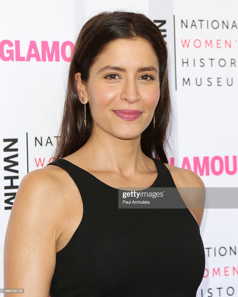 Actress Mercedes Masohn attends the National Women's History Museum's 4th annual 'Women Making History' brunch at Skirball Cultural Center on...