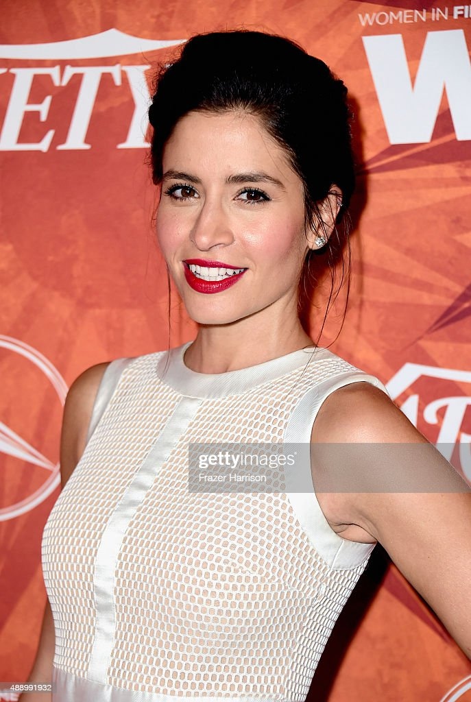 Actress Mercedes Masohn attends the Variety and Women in Film Annual PreEmmy Celebration at Gracias Madre on September 18 2015 in West Hollywood...