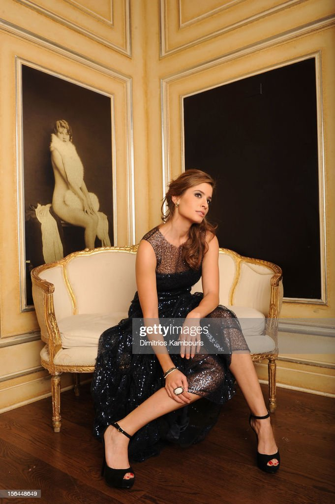 Actress Mercedes Masohn poses for her Resident Magazine shoot on October 16, 2012 at The Carlton Hotel in New York City.