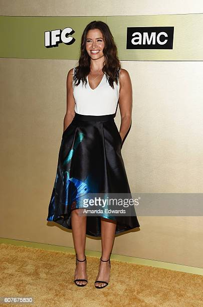 Actress Mercedes Mason arrives at the AMC Networks' 68th Primetime Emmy Awards AfterParty Celebration at BOA Steakhouse on September 18 2016 in West...