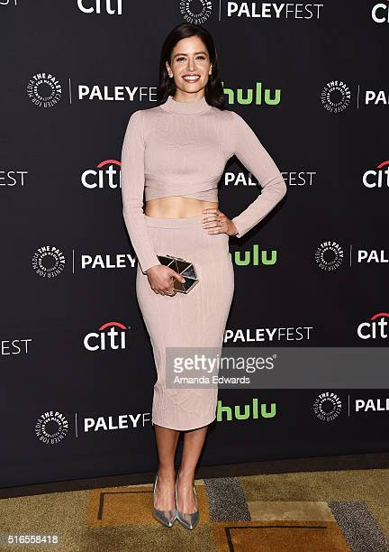 Actress Mercedes Mason arrives at The Paley Center For Media's 33rd Annual PaleyFest Los Angeles presentation of 'Fear The Walking Dead' at Dolby...