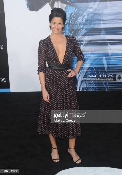 Actress Mercedes Mason arrives for the Premiere Of Lionsgate's 'Power Rangers' held on March 22 2017 in Westwood California
