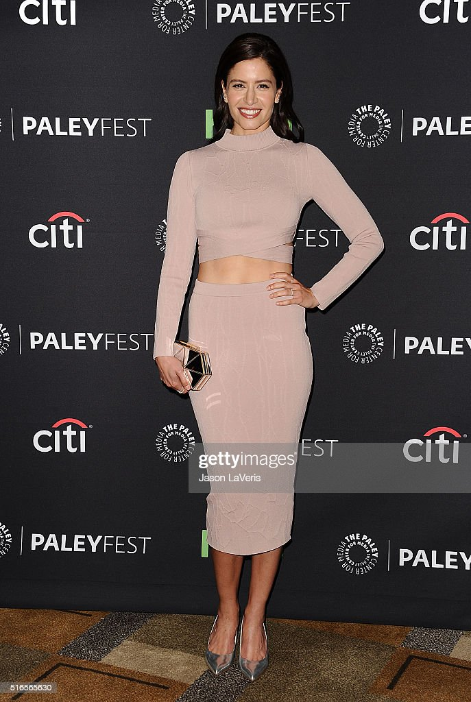 Actress Mercedes Mason attends the 'Fear The Walking Dead' event at the 33rd annual PaleyFest at Dolby Theatre on March 19 2016 in Hollywood...