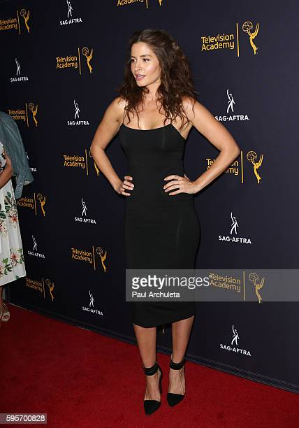 Actress Mercedes Mason attends the Television Academy and SAGAFTRA's 4th Annual Dynamic and Diverse Celebration at the Saban Media Center on August...