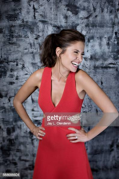 Actress Mercedes Mason of 'Fear the Walking Dead' is photographed for Los Angeles Times at San Diego Comic Con on July 22 2016 in San Diego California