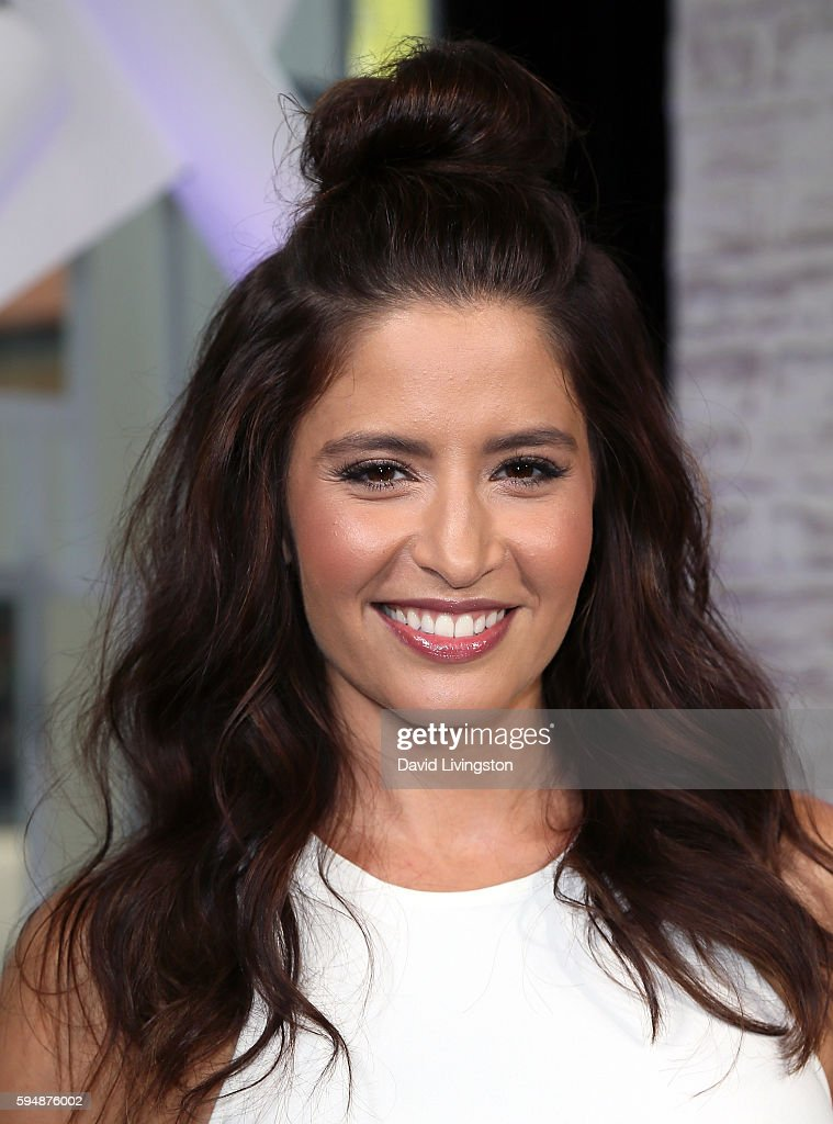 Actress Mercedes Mason visits Hollywood Today Live at W Hollywood on August 24 2016 in Hollywood California