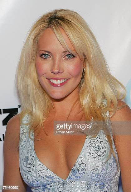 Actress Mercedes McNab from the film 'Hatchet' arrives at Starz Home Entertainment's 'Under the Stars' opening night party for the Home Media Expo at...