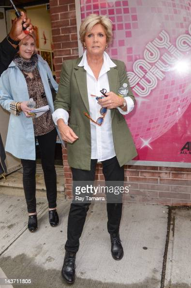 Actress Meredith Baxter leaves the 'Wendy Williams Show' taping at AMV Studios on May 2 2012 in New York City