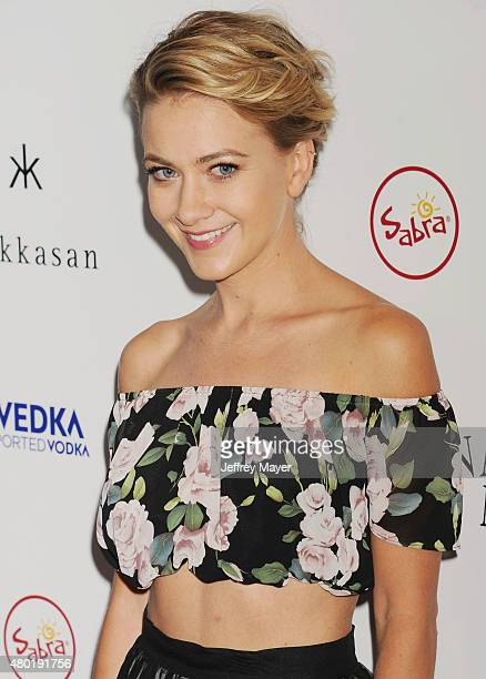 Actress Meredith Hagner arrives at the Premiere Of Sony Pictures Classics' 'Irrational Man' at the WGA Theatre on July 9 2015 in Beverly Hills...
