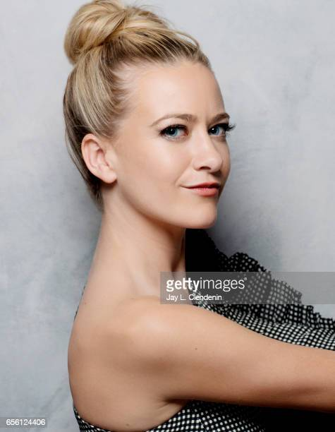 Actress Meredith Hagner from the television movie Strangers is photographed at the 2017 Sundance Film Festival for Los Angeles Times on January 23...