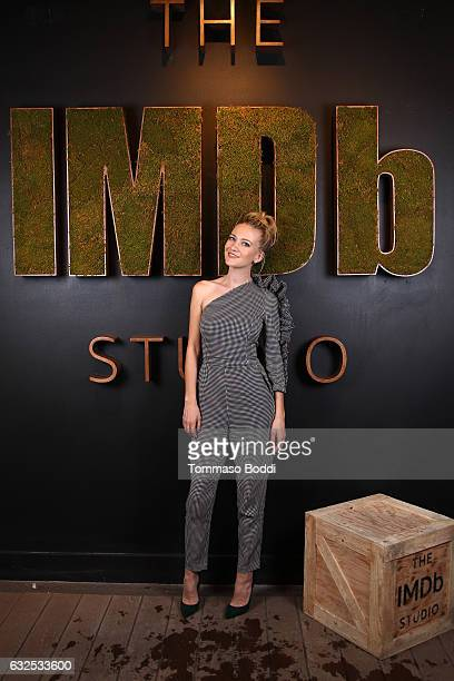 Actress Meredith Hagner of 'Strangers' attends The IMDb Studio featuring the Filmmaker Discovery Lounge presented by Amazon Video Direct Day Four...