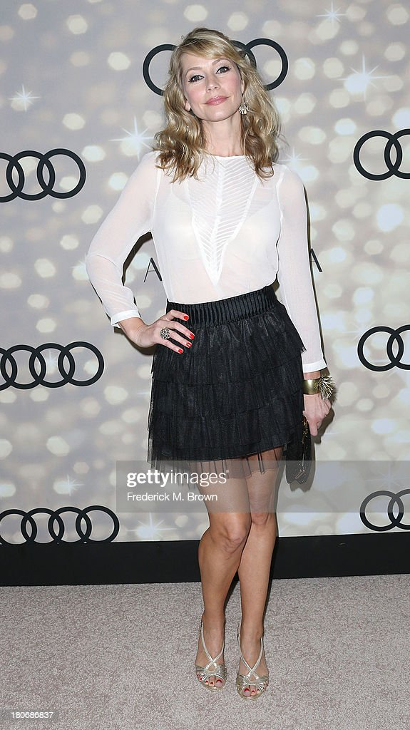 Actress <a gi-track='captionPersonalityLinkClicked' href=/galleries/search?phrase=Meredith+Monroe&family=editorial&specificpeople=1018022 ng-click='$event.stopPropagation()'>Meredith Monroe</a> attends Audi and Altuzarra's Primetime Emmy Awards Week 2013 Kick-Off Party at Cecconi's Restaurant on September 15, 2013 in Los Angeles, California.