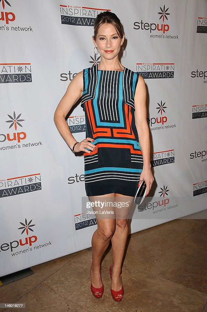 Actress Meredith Monroe attends StepUp Women's Network 9th annual Inspiration Awards at The Beverly Hilton Hotel on June 8, 2012 in Beverly Hills, California.