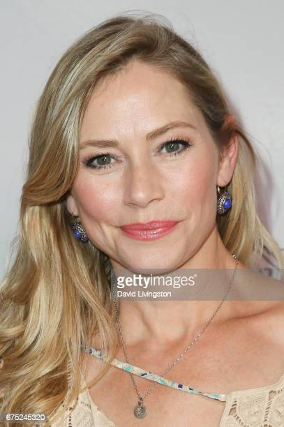 Actress Meredith Monroe attends the WE ALL PLAY FUNdraiser hosted by the Zimmer Children's Museum at the Zimmer Children's Museum on April 30 2017 in...